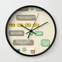 Are you a hipster? Wall Clock