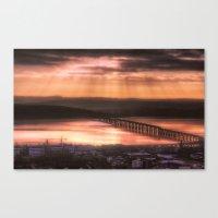Dundee Railway Bridge Canvas Print
