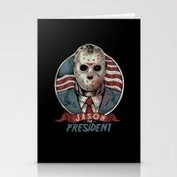 Jason For President Stationery Cards