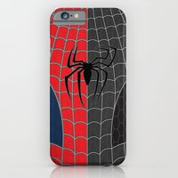 iPhone & iPod Case featuring Spider-Man Red/Black by C Rhodes Design