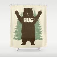 Bear Hug? Shower Curtain