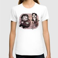 Burton Grumps Womens Fitted Tee White SMALL