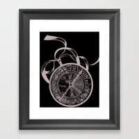 Finding The Way Framed Art Print