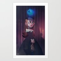 Eye Lady Art Print