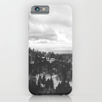Mountains and Desert view iPhone 6 Slim Case