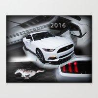 2016 Mustang Canvas Print