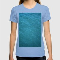 Heart Of The Ocean Womens Fitted Tee Tri-Blue SMALL