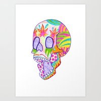 That's Skullarious. Art Print