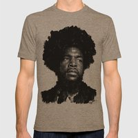 Questlove Mens Fitted Tee Tri-Coffee SMALL