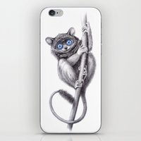 Tarsier blue G2012-047 iPhone & iPod Skin