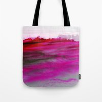 Purple Clouds Red Mounta… Tote Bag