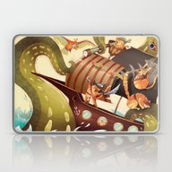 MEOWRRRRRRH!!! Laptop & iPad Skin