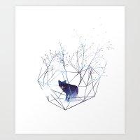 Art Prints featuring Organic prison by Robert Farkas
