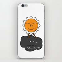 my day without you iPhone & iPod Skin