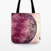 Saturn Nebula Abstract  Tote Bag