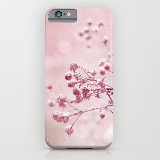 pink floral iPhone & iPod Case