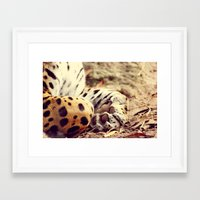 Cuddle Up Framed Art Print
