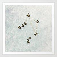 Libra X Astrology X Zodi… Art Print