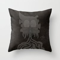 Earl. Throw Pillow