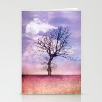 ATMOSPHERIC TREE | Early… Stationery Cards
