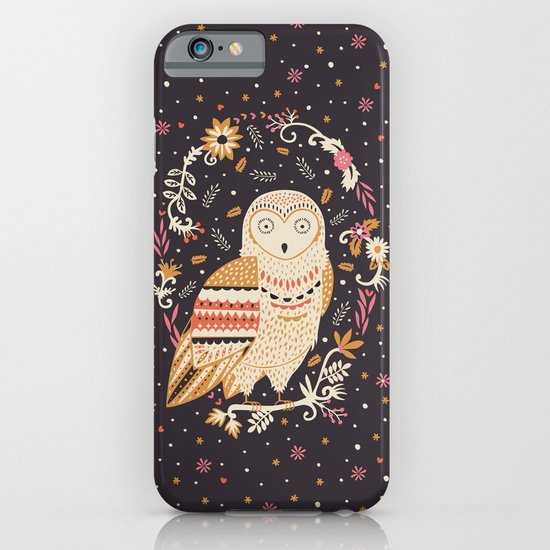 Snowy Owl iPhone & iPod Case