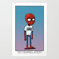 50 Years Later. Art Print