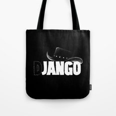 The D is silent Tote Bag