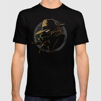 Undercover Ninja Mikey Mens Fitted Tee Black SMALL