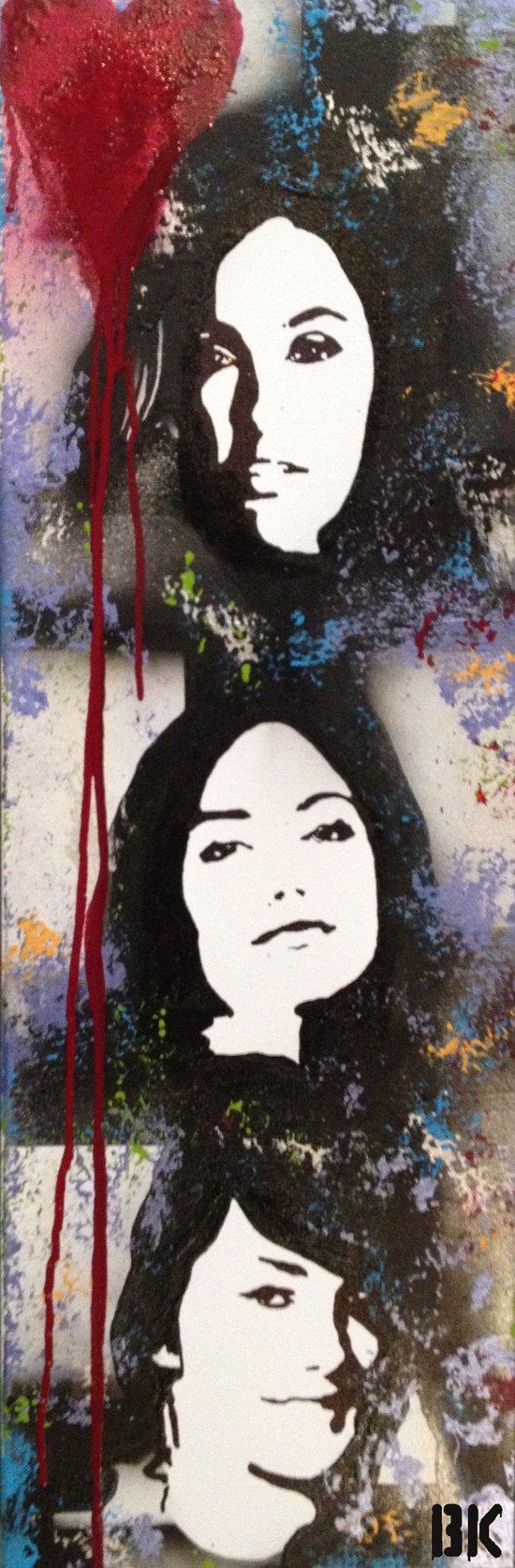 Love's Aesthetic unedited Canvas Print
