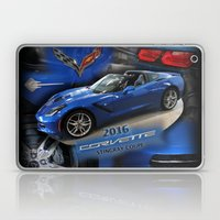 2016 Corvette Stingray Coupe Laptop & iPad Skin