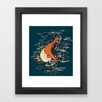 My Thinking Place Framed Art Print