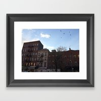 East Village Framed Art Print
