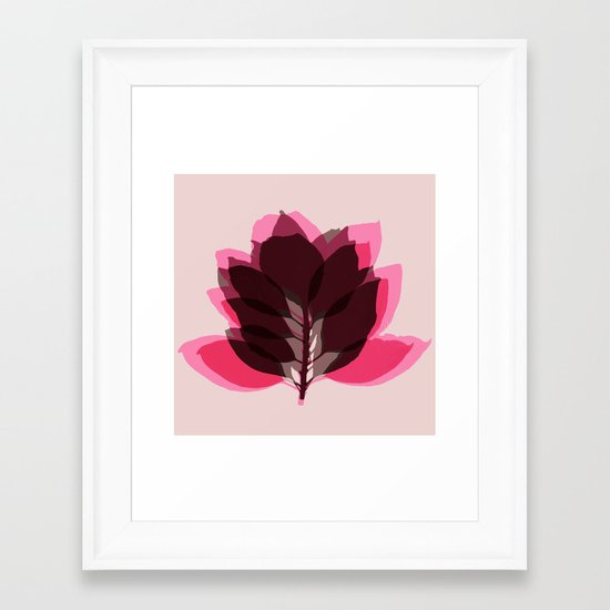 Blossom Pink Framed Art Print