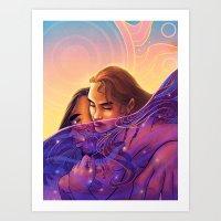 The Sun In My Sea Of Sta… Art Print