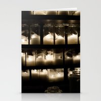 Behind The Light Stationery Cards