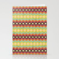 Chevron norvehC Stationery Cards