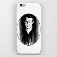DARK COMEDIANS: Jason Se… iPhone & iPod Skin