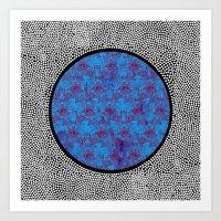 Cosmic Eyes Art Print