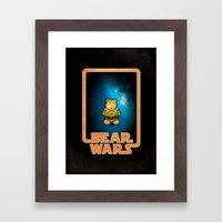 Bear Wars - G3PU Framed Art Print