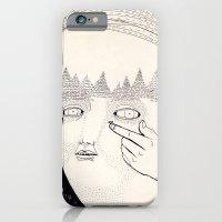 iPhone & iPod Case featuring Lente de contacto by Topiz