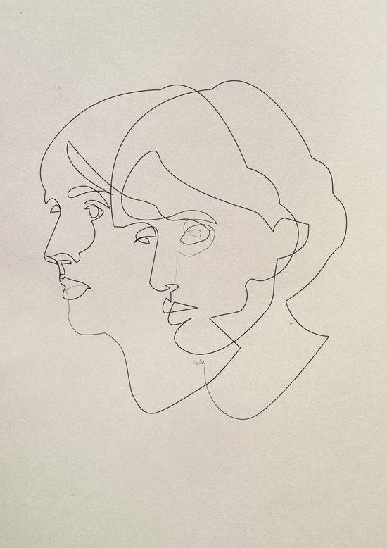 Virginia Woolf Art Print