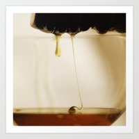 Honey Gold Art Print