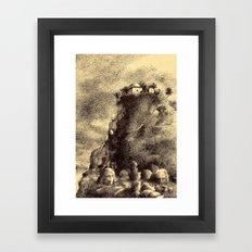 Hıdr'l al Cebel Framed Art Print