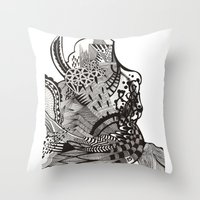 abstract vol 1 Throw Pillow
