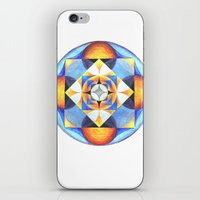 Solar Kaleidoscope (ANALOG zine) iPhone & iPod Skin