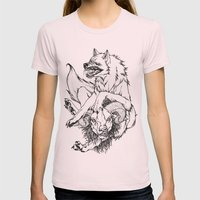 Ramtastic Womens Fitted Tee Light Pink SMALL