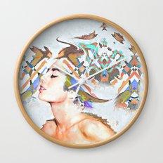 Nymph Wall Clock