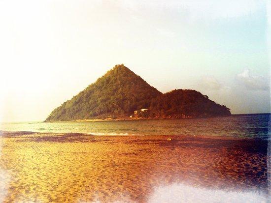 Rainbow Island Canvas Print