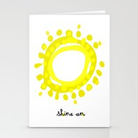 Shine on! Stationery Cards