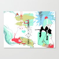 Funky S*!t Canvas Print